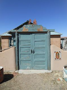 Cool doors - Madrid, New Mexico