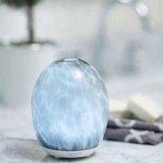 Glass Ultrasonic Diffuser (Grey) MarbleMist