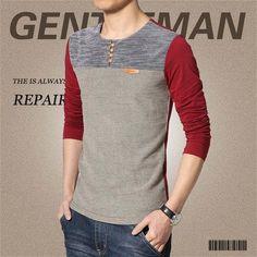 9db11c4ad1cf O-Neck Slim Fit Long Sleeve T Shirt – Piketo Formal Shirts