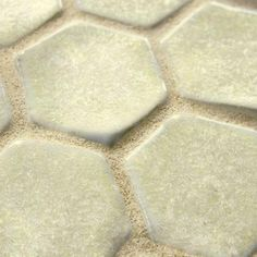 Merola Tile Cobble Hex Polar 10-3/4 in. x 12 in. x 12 mm Ceramic Mosaic Floor and Wall Tile-FDXCHPO at The Home Depot; master bathroom floor?