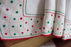 Bordados para o Natal #madeiraembroidery #handmade #bordal #christmas
