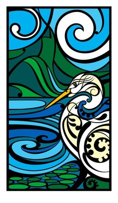 Shane Hansen is a Maori Artist based in Aotearoa New Zealand. His artwork is mostly themed around native birds, his heritage and connection to the land. Art Maori, Maori Patterns, Art Nouveau, Maori Designs, New Zealand Art, Nz Art, Kiwiana, Art Classroom, Classroom Ideas