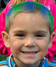 Have Fun With Crazy Hair Day For The Kids