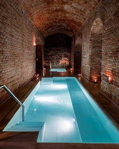 Luxury Swimming Pools, Luxury Pools, Indoor Swimming Pools, Dream Pools, Swimming Pools Backyard, Pool Spa, Swimming Pool Designs, Natural Swimming Pools, Lap Pools