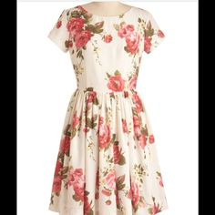 HELP ME FIND THIS DRESS! By Modcloth Beauty in the Air dress by Modcloth. Size medium or large or small. ModCloth Dresses