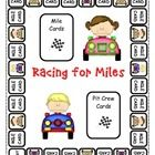 Racing for Miles is a wonderful game to reinforce your students concept of nouns, verbs, and adjectives.  Students will race around the racetrack t...