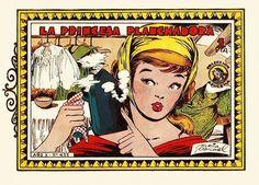 TEBEOS DE FACTURA HISPANA: Azucena nº 435 (cupón) La princesa planchadora (Clotlde Méndez y María Pascual) Aporte de Fariña