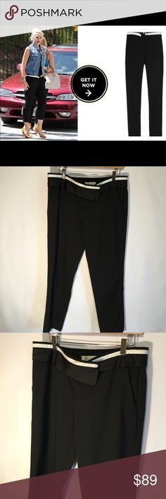 A.L.C Jude contrast tuxedo waist pants sz 10 A.L.C Jude contrast tuxedo waist pants sz 10. Gently worn but in great condition! A.L.C. Pants Trousers