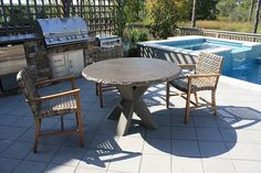 My Outdoor Rooms | Pergolas | Pavilions | Fire Pits | Kitchens | | CUSTOM FURNITURE