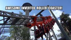 Tornado Roller Coaster POV AWESOME Intamin Invert Sarkanniemi Finland