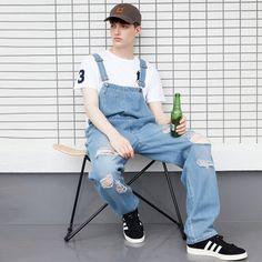 Bib Overalls, Guys, Pants, Men, Fashion, Trouser Pants, Moda, Fashion Styles, Women's Pants