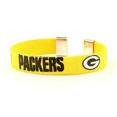 Green Bay Packers Ribbon Style NFL Fan Band Wrist Bracelet in Football-NFL | eBay