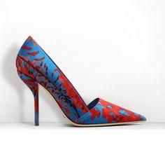 Obsessed:+Dior+Floral+Silk+Faille+Pump