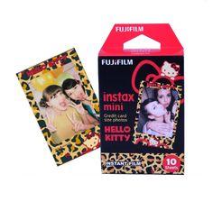 Fujifilm Fuji Instax Mini Film for Hello Kitty Leopard Print Paper For Fuji Mini 8 25 90 Share Camera Instax Mini 8, Fujifilm Instax Mini, Fujifilm Instant Camera, Instax Camera, Hello Kitty Instax, Instax Mini Film, Photography Basics, Print Paper, Sleepover