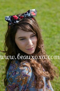Cute Kawaii Black Skulls Chains and Roses Fabric Retro by beauxoxo, £5.00