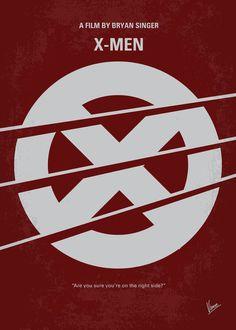 My X-men minimal movie poster