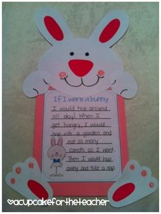 if i were a bunny writing