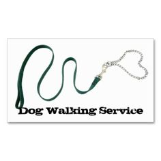 Serpentine green leash & #heart chain doubled sided business card #bizcard #pet #animal