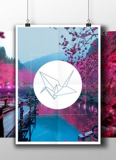 Origami - Hello by Ygor Batista, via Behance