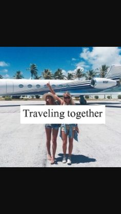 Traveling together