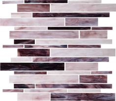 """View the Daltile F191-12RANDMS1P Glass Crescent City Wall Tile - 12.5"""" X 13.5"""" (Sold by Sheet) at Build.com."""
