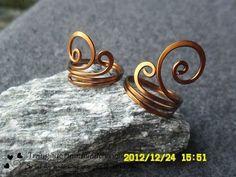How to make handmade jewelry- DIY Wire Rings - Hướng dẫn làm nhẫn đơn giản