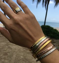 "Receive 50% OFF our ""Be Colorful"" Collection Bracelets & Rings now until April 18th! Use Promo code: SPRING50 at checkout. Always FREE shipping on all orders...Promise! Click here!"