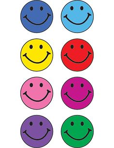 Happy Faces 528 Mini Chart Stickers from Teacher Created Resources, item TCR