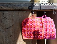 x-tra Big Pottholder with an artfully pattern Straw Bag, Knitted Hats, Shabby Chic, Knitting, Crochet, Pattern, Bags, Inspiration, Fashion