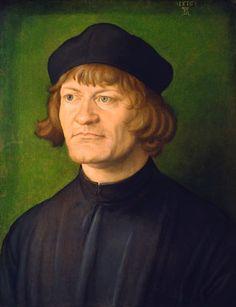 Albrecht Durer. 1471-1528. Portrait of a Clergyman. 1516. Renaissance  Paintings 4da92b702c54