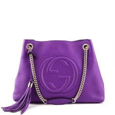 b44401f4155 Gucci Purple Soho Chain Shoulder Bag - LOVE that BAG - Preowned Authentic  Designer Handbags Chain