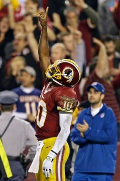 Giving glory to God! Redskins 17 Giants 16 -  Week 13 2012