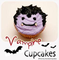 Vampire Cupcakes by Animated Cupcakes, via Flickr