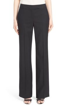 Nordstrom Signature and Caroline Issa Wool Suiting Pants available at #Nordstrom