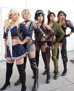Sucker Punch group cosplay by JenovaRikku.deviantart.com