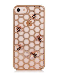 Skinnydip London Rose Gold Bee Case