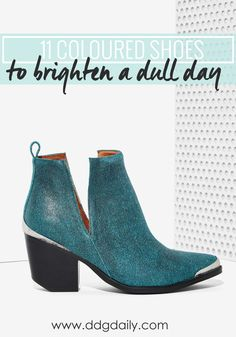11 SHOES TO BRIGHTEN UP A DREARY WINTER'S DAY
