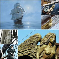 ships Figurehead on ships Jared Fraser (Jamie's cousin) - Voyager by Diana Gabaldon
