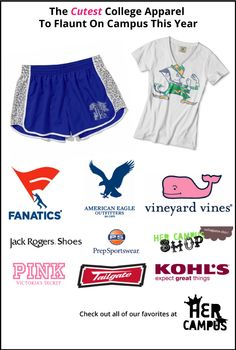 The Cutest College Apparel to Flaunt On Campus