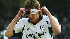 Facundo Sava, who scored 27 goals in his time at Fulham, would reach into his sock to celebrate with a Zorro mask.