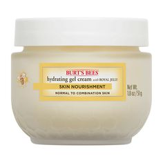 Burt's Bees® Skin Nourishment Hydrating Gel Cream contains nature's most nourishing ingredients to help keep skin well-hydrated and looking lovely. Burts Bees, Aloe Vera Gel, Best Face Products, Beauty Products, Skin Products, Combination Skin, Skin Cream, Eye Cream, Healthy Skin