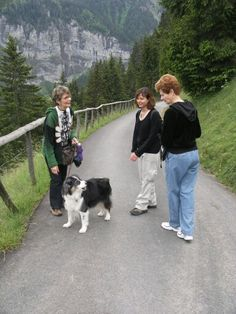 Hiking in Gimmelwald.