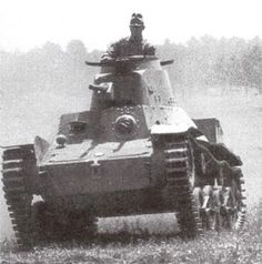 """Imperial Japanese Army Light Tank Type 95 """"Ha-go"""" 九五式軽戦車 ハ号 - pin by Paolo Marzioli"""
