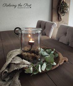 country home accessories Tafel / Woonkamer Set 2 - Hari - # Eettafel Set # Accessoi tisch schale
