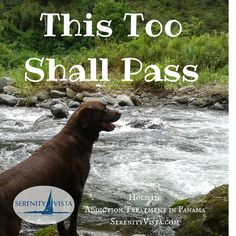 This too shall pass, and then come on around again. Sobriety is a Journey. Start yours in Paradise.  Affordable, Holistic, Private Pay, Discreet, Fun and Effective. Drug Rehab is no vacation, but if you need treatment, why not choose a warm tropical environment to heal? serenityvista.com