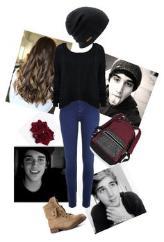 """""""Hanging with the brooks"""" by xxabbeybearxx ❤ liked on Polyvore featuring Brooks, River Island, Coal and Victoria's Secret"""