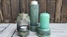 3 Ideas de portavelas o candelabros reciclando latas de aluminio - YouTube