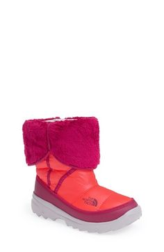 The North Face 'Amore' Water Resistant Winter Boot (Little Kid & Big Kid) available at #Nordstrom