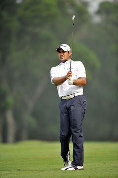 India's Gaganjeet Bhullar during Round 1 of the US$ 500,000 event in Taipei.  #Golf #GolfTour #YeangderTournamentPlayersChampionship #YeangderTPC