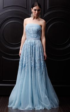 naeem khan- baby blue gown
